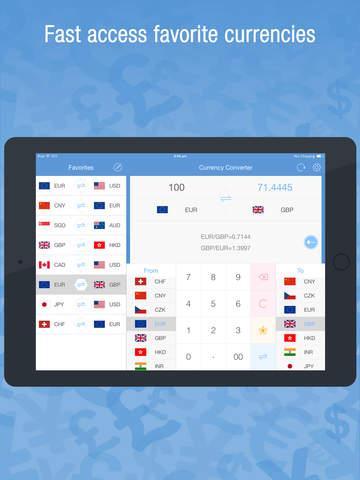 Currency Converter Pro - Currencies & Exchange Rates Converter Screenshots