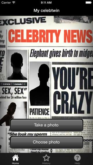 Celebtwin: Celebrity Look Alike Lite