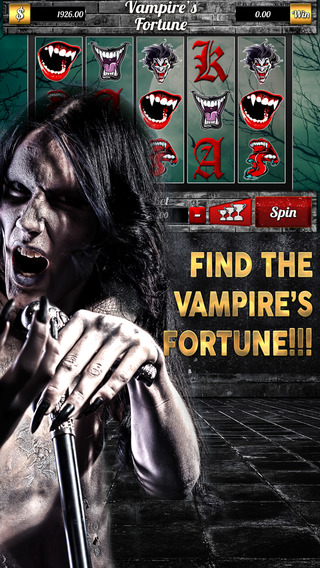 `````` 2015 `````` Vampire's Fortune Slots - Spin Win Coins with the Classic Las Vegas Machine