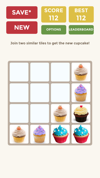 2048 Cupcake Endless Mode 3x3 4x4 5x5 6x6