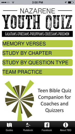 Youth Bible Quizzing SE