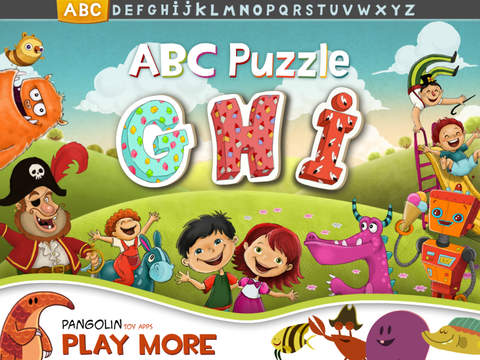ABC Puzzle Vol. 3 – Educational alphabet sticker game for toddlers