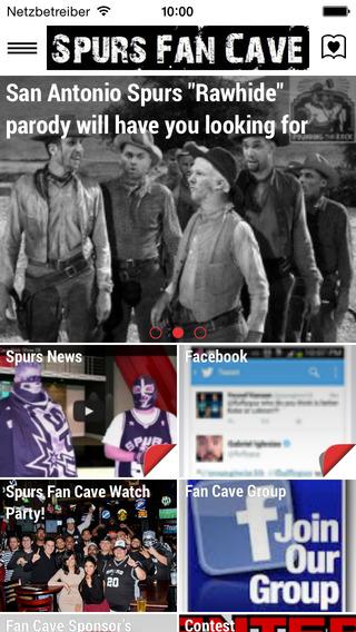 Spurs Fan Cave