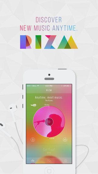 RIZM discover new music with smart recommendations