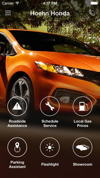 Hoehn Honda DealerApp