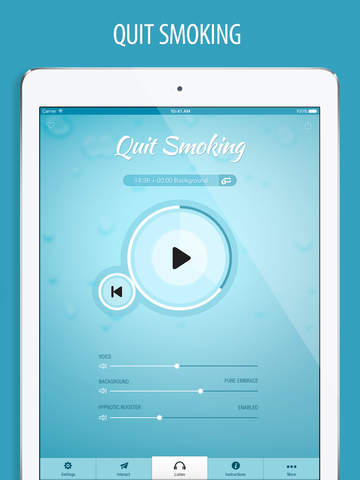 Quit Smoking Hypnosis FREE - Hypnotherapy to Help Stop Smoking Cigarettes Now screenshot
