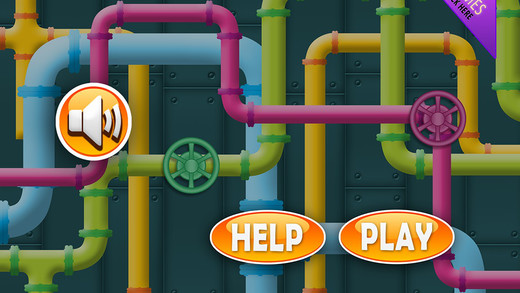 Pipe Maze Runner - Hexic Ring with Water Flow Free FREE