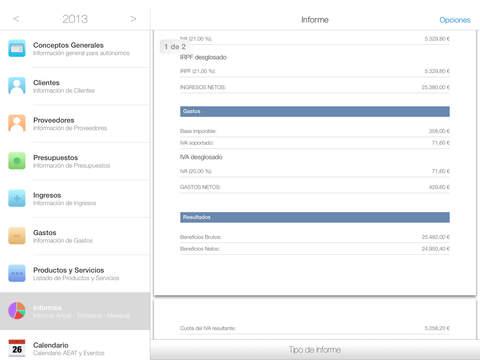 Autónomo iPad Screenshot 4