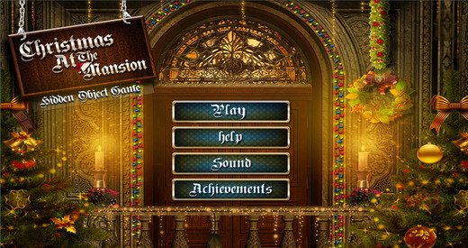 Christmas at the Mansion - Free Hidden Object Games