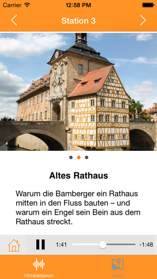 BAudioguide - Audioguide für Bamberg
