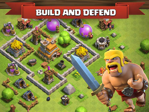 ipad Clash of Clans Screenshot 0