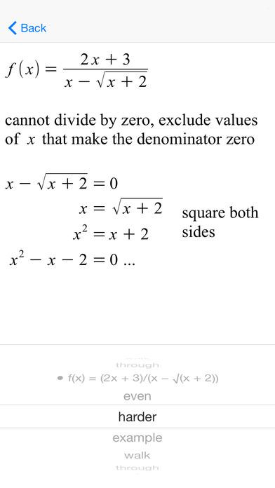 AFuncDomain Function Domains iPhone Screenshot 5