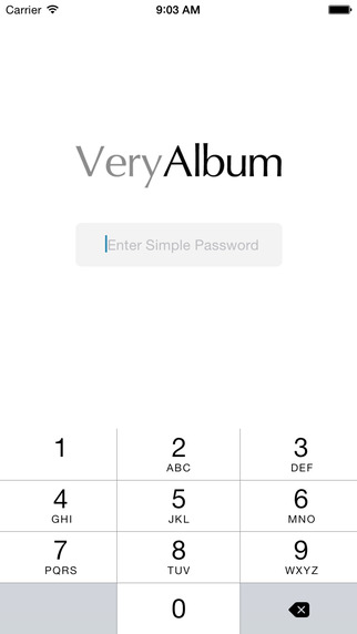 VeryAlbum - Encrypted Album to protect your photos and videos