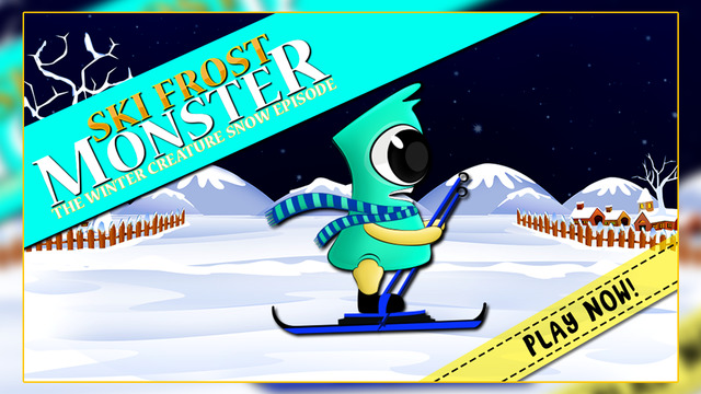 Ski Frost Monster : The Winter Creature Snow Episode - Gold Edition