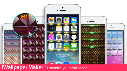iWallpaper Maker Lite : Custom Wallpaper theme for home screen lock screen kakao whatsapp