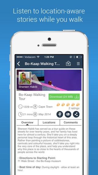 VoiceMap: Audio Walking Tours