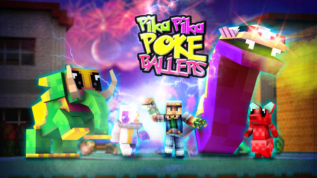 Pika-Pika Poke Ballers - Modern Lucky Pixelmon Voxel 3D Edition With Minecraft Skin Uploader Screenshots