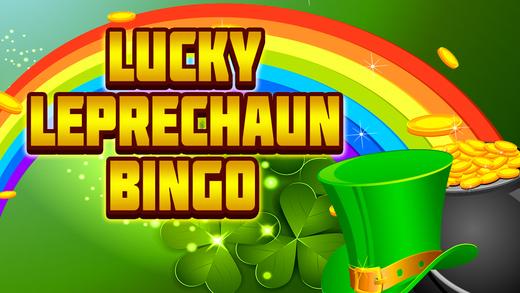 Amazing Lucky Leprechaun in Wonderland Bingo Game - Fun House of Jackpot Be Rich-es Casino Pro