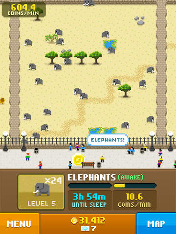 Screenshots of Disco Zoo for iPad