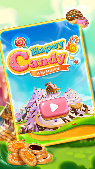 Happy Candy With Friends