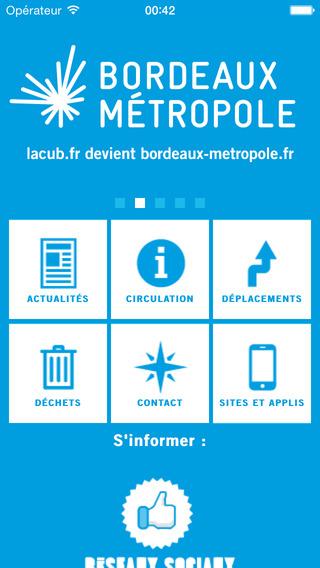 Bordeaux Métropole Mobile