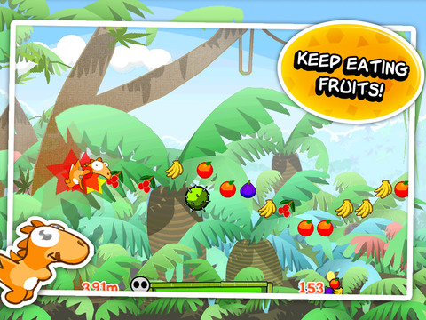 Dino Rush iPad Screenshot 2