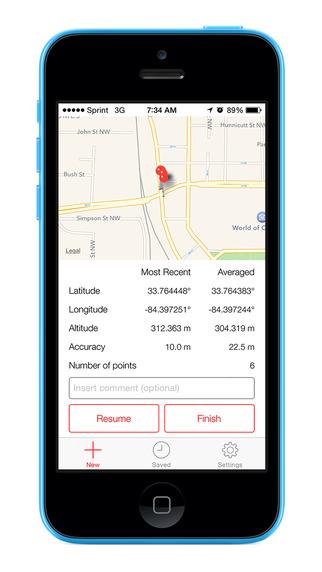 GPS Averager