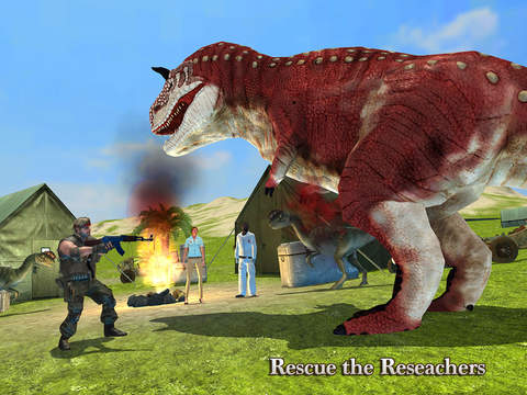 Jurassic Island Rescue and Escape Proscreeshot 2