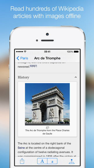 OffMaps 2 - Offline Maps for Paris, London, Berlin, New York ... Screenshots