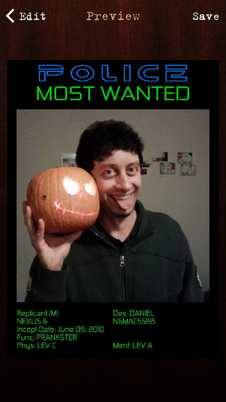 Screenshots for Wanted Poster Pro