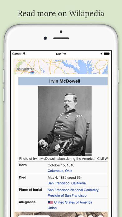 American Civil War Daily iPhone Screenshot 2