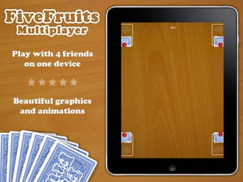 Five Fruits: Multiplayer Battle iPad Screenshot 1