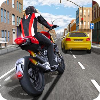 Race the Traffic Moto LOGO-APP點子