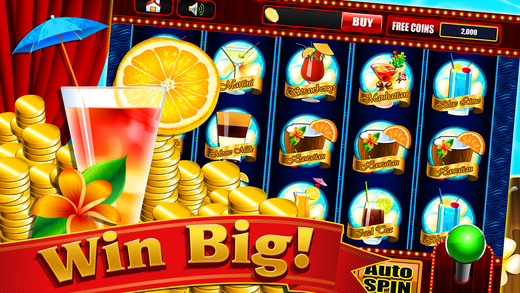 Extreme Cocktail Drinks Rush for Lucky Games in Fruit Island Play and Win in Casino Vegas Slots