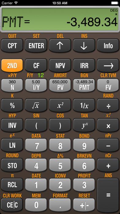BA Finance Plus iPhone Screenshot 1