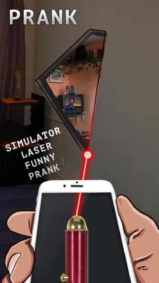 Simulator Laser Funny Prank