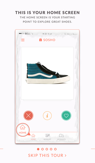 SoSho – Discover the finest shoes in the world