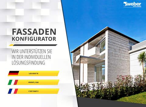 Weber Fassaden Konfigurator CH