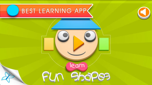 Fun Shapes - An interactive app with puzzle for children to learn about shapes.
