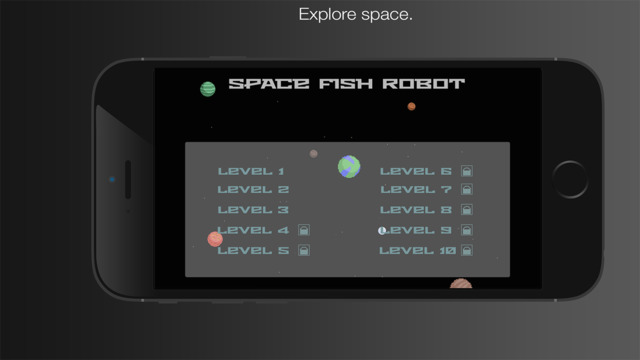 Space Fish Robot