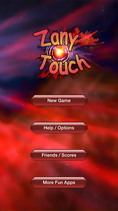 Zany Touch Free iPhone Screenshot 2