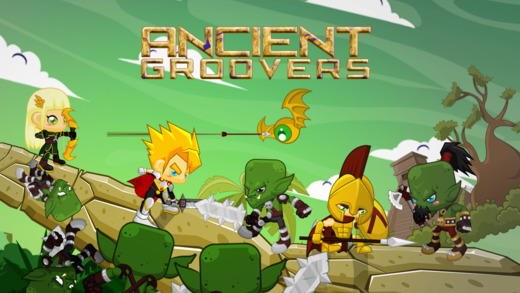 Ancient Groovers – A Knight's Legend of Elves Orcs and Monsters
