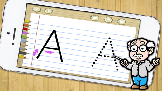 Learn to write for preeschool children 3-6 - handwriting in spanish for kids - Premium