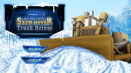 Winter Snow Mover Truck Driver Simulator – Real Cold Snow Plow Blow Excavator 3D Free Game