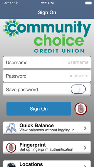 Community Choice Mobile Banking