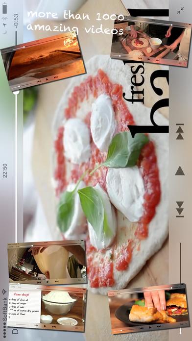 Great Pizza Recipes iPhone Screenshot 2