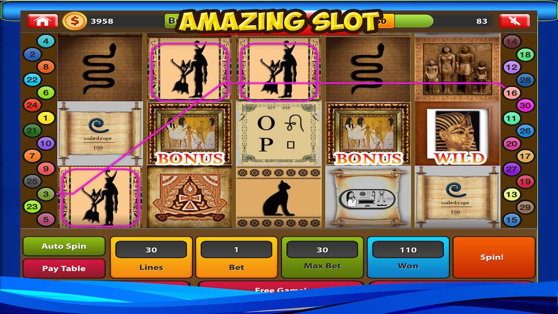 The Last Pharaoh Slot - Play this Video Slot Online