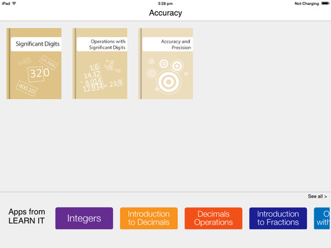 Learnitapps: Accuracy