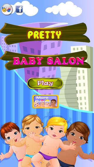 Pretty baby hair salon spa