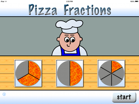 Pizza Fractions 7